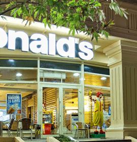 McDonalds Fəvvarələr meydanı