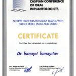 Dr. med. dent. İsmayıl İsmayılov