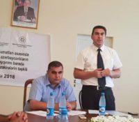 İctimai birlikdən Qubada mart soyqırımı müzakirəsi